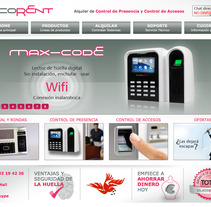 Cucorent, sitio web. A Illustration, Advertising, Photograph, UI / UX, Art Direction, Graphic Design, Information Architecture, Marketing, Web Design, and Web Development project by Marcos Huete Ortega         - 29.10.2012