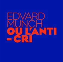Munch ou l'anti-cri. A Design project by Jose  Palomero - Nov 01 2012 05:56 PM