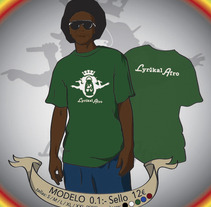 Camisetas Lyrikal Afro. A Design&Illustration project by Claudia Pinto Negreira - 10-01-2013