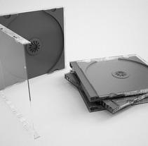 3D Caja CD. Un proyecto de Diseño, Publicidad y 3D de Sergio Fernández Moreno         - 25.12.2012