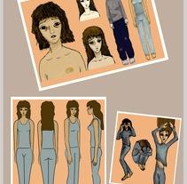 Diseño de personaje. Um projeto de  de S. Gabriela Pereyra - 11-01-2013