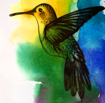 Pajarillos y otras cosas.... Um projeto de Ilustração de Natalia Vera  - 15-01-2013