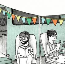 Caravaneando. Un proyecto de Ilustración de vanessa  santos - 16-01-2013