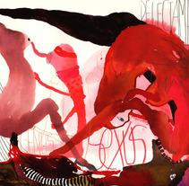 Seven deadly sins: Lust. Um projeto de Design, Ilustração e Publicidade de Laia Jou         - 16.01.2013