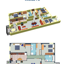 Viviendas 3D / 3D Houses. A Design, Advertising, and 3D project by Eli Pérez         - 04.02.2013