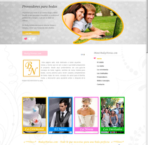 Portal web Bodaynovias.com. A Design, and Software Development project by Ana Quintela         - 09.02.2013