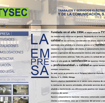 web de TYSEC. A Design project by Nerea Cordero         - 19.02.2013