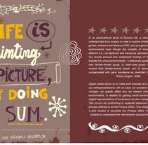 Life - Lettering. Un proyecto de Diseño e Ilustración de Denise Turu - 25-02-2013