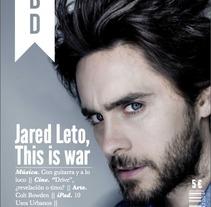 Revista MBD. A Design project by Sara Peláez         - 27.04.2013