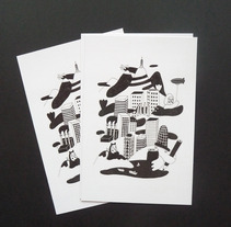 Barcelona Postcard. A Design&Illustration project by Bernat Solsona         - 30.03.2013