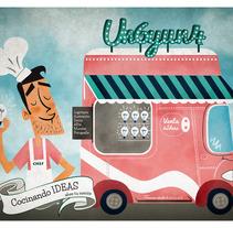 Cocinando Ideas. A Design&Illustration project by Un 6 y un 4 - Diseño con Ñ -- diseño con Ñ         - 31.03.2013