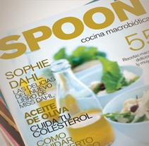 Revista Spoon. A Editorial Design, and Graphic Design project by Marcelo Garolla Artuso         - 06.04.2013