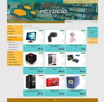 PCyOcio. Un proyecto de Publicidad, UI / UX y Diseño de AOH  - 09.04.2013