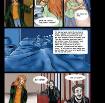 Cómic prevención tabaquismo en jóvenes. Un proyecto de Ilustración de Miguel Ozonas Gregori - 16-04-2013