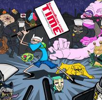 Spanish Revolution Time. Un proyecto de Ilustración y Diseño de personajes de Chiko  KF - Miércoles, 31 de octubre de 2012 00:00:00 +0100
