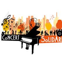Logo Concert solidari. Un proyecto de Diseño de xavi malet mumbrú - 25-04-2013