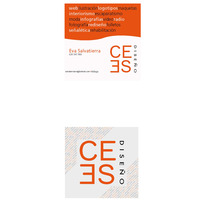 Tarjetas corporativas. Un proyecto de Diseño de Eva          - 26.04.2013