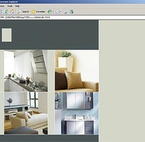 Web de interiorismo. Un proyecto de Desarrollo de software e Informática de Eva  - 26-04-2013