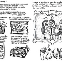 "Tira cómica fanzine ""QuéSuerte"".. A Design, Illustration, Installations, and Photograph project by ZANART - 27-04-2013"