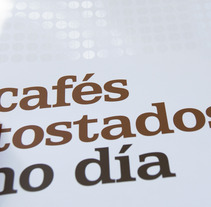 Cafés Sabora. Un proyecto de Diseño y Publicidad de Comunicación Visual - 01-05-2013