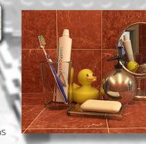 Infografia 3d. Um projeto de Ilustração e 3D de Francisco Huezo García         - 09.05.2013