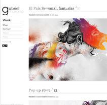Gabriel Moreno - Website. Un proyecto de Desarrollo de software de jonathan martin - 13-05-2013