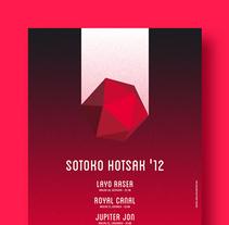 Sotoko Hotsak '12. A Illustration, and Graphic Design project by La caja de tipos  - 09.10.2012