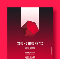 Sotoko Hotsak '12. A Illustration, and Graphic Design project by La caja de tipos  - 09-09-2012