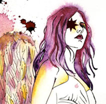Angel Exterminador. A Illustration project by Natalia Vera          - 16.05.2013