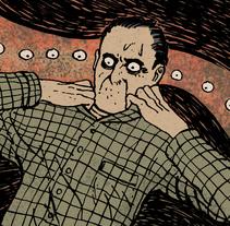 """Cómic corto """"No puedo"""". A Illustration project by Nicolás Castell         - 27.05.2013"""