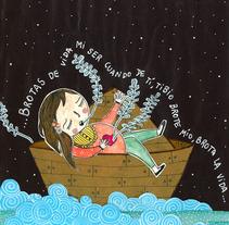 Nochecitas. Un proyecto de Ilustración de Maru Vetere         - 28.05.2013