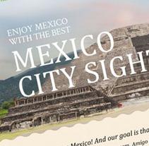 Tailor Made Tours Mexico. Um projeto de Design, Publicidade, Desenvolvimento de software e Informática de Jose Valle         - 30.05.2013