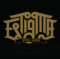 Estigma Tattoo. A Design, Illustration, Art Direction, Br, ing, Identit, Graphic Design, T, pograph, and Calligraph project by Bnomio ™ - May 30 2013 12:00 AM