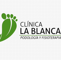 Logotipo de Clínica La Blanca. A Design project by Edorta Ramírez         - 05.06.2013