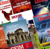 Revistas y Folletos. A Design, and Advertising project by Juan Aguilar de Alvear         - 05.06.2013