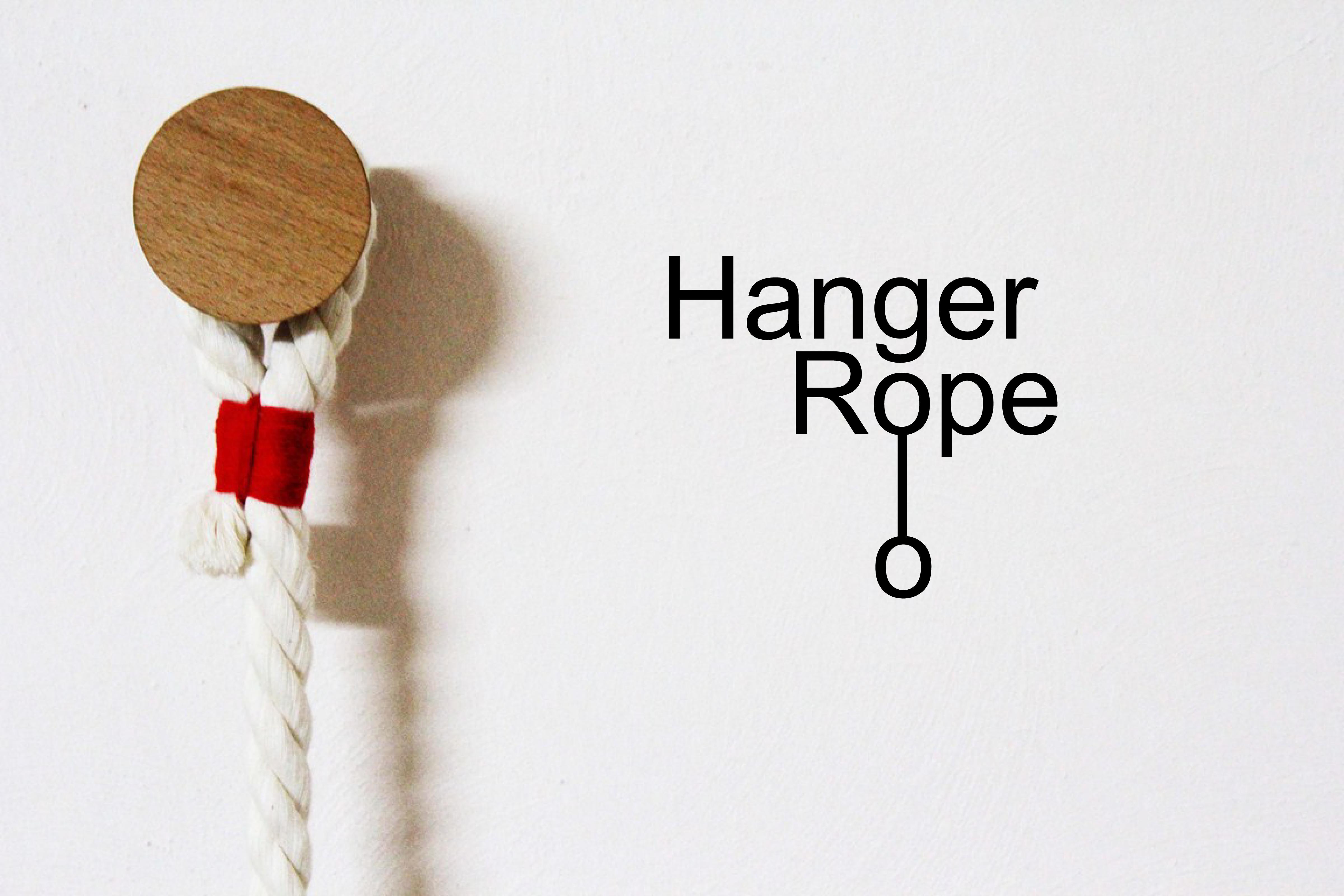 Hanger rope perchero de pared domestika - Modelos de percheros de pared ...