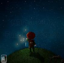 Pi y las estrellas sin luz. Um projeto de Ilustração de Marta de la Fuente Gómez - 17-06-2013