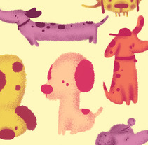 Dogs. Un proyecto de Diseño e Ilustración de Jotaká  - 18-06-2013