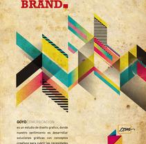 GoyoComunicacion. Un proyecto de Fotografía, Publicidad y Diseño de Goyo Arellano Alcocer - Viernes, 21 de junio de 2013 09:25:00 +0200