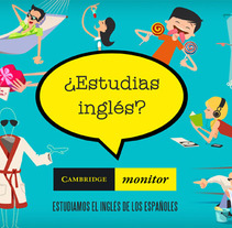 CAMBRIDGE MONITOR. A Design, Illustration, and Advertising project by Ciento volando         - 21.06.2013