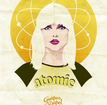 "Debbie Harry for ""Guapos de Papel"". A Illustration, and Design project by Fernando Fernández Torres - Jun 21 2013 09:08 PM"