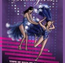 Showgirls for . Un proyecto de Diseño e Ilustración de Fernando Fernández Torres - 21-06-2013