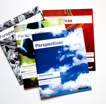 Revista Perspectivas Microsoft. A Design project by Aniana Heras         - 26.06.2013