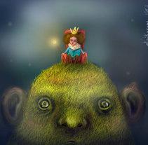 Digital/ Mounstros. Um projeto de Ilustração de Irati Martin Camarero - 10-07-2013