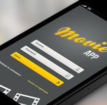 Movie App. A Design, and UI / UX project by Aurora Sanz         - 16.07.2013