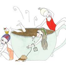 Vacaciones de invierno. A Illustration project by Maru Vetere         - 19.07.2013