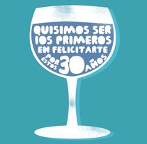 Aviso de Aniversario Revista PRODUCTO. A  project by Juan Pablo Rabascall Cortizzos         - 30.07.2013