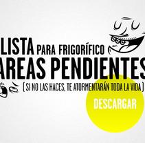 Lista de tareas. Un proyecto de Diseño e Ilustración de Jose Mª Quirós Espigares - 18-08-2013