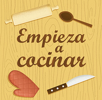 Empieza a cocinar. A Design&Illustration project by Natalia de Frutos Ramos         - 23.08.2013