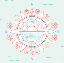 Mapa . A Design&Illustration project by relajaelcoco  - 03-09-2013